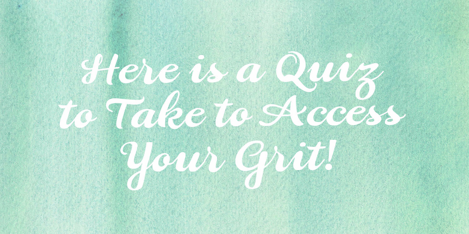 Access Your Grit