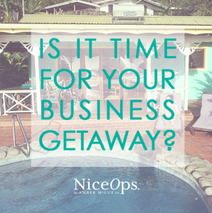 IS IT TIME FOR YOUR BUSINESS