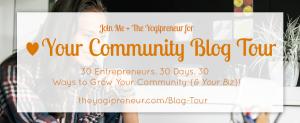 Yogipreneur Blog Tour
