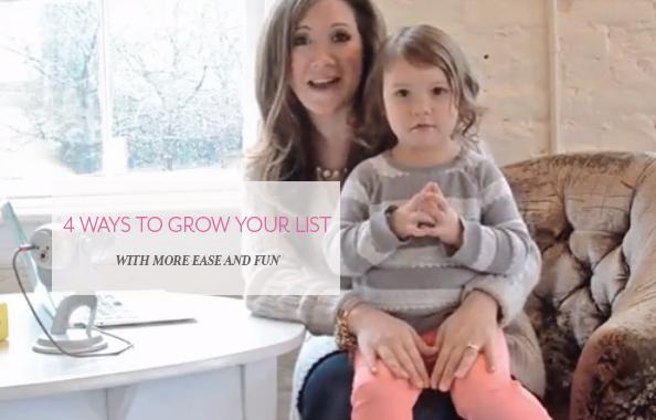 4 Ways to Grow Your List
