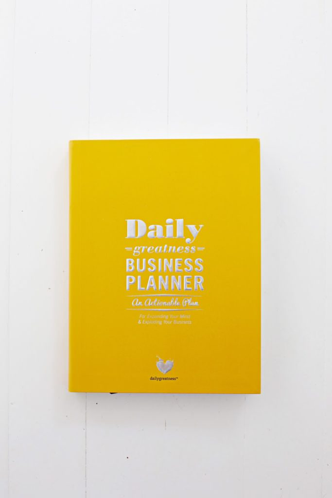 The Daily Greatness Business Planner