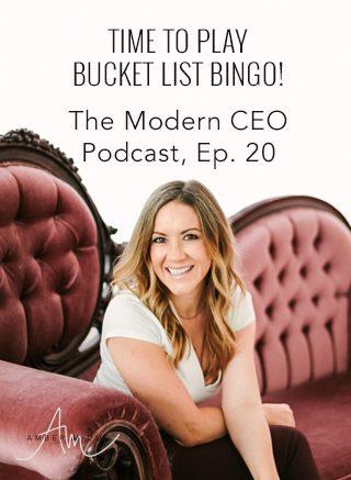 Time to play Bucket List Bingo!