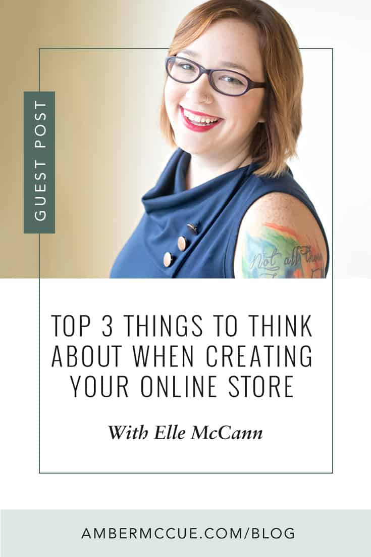 Top 3 Things To Think About When Creating Your Online Store