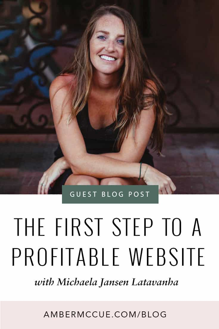 The First Step To A Profitable Website