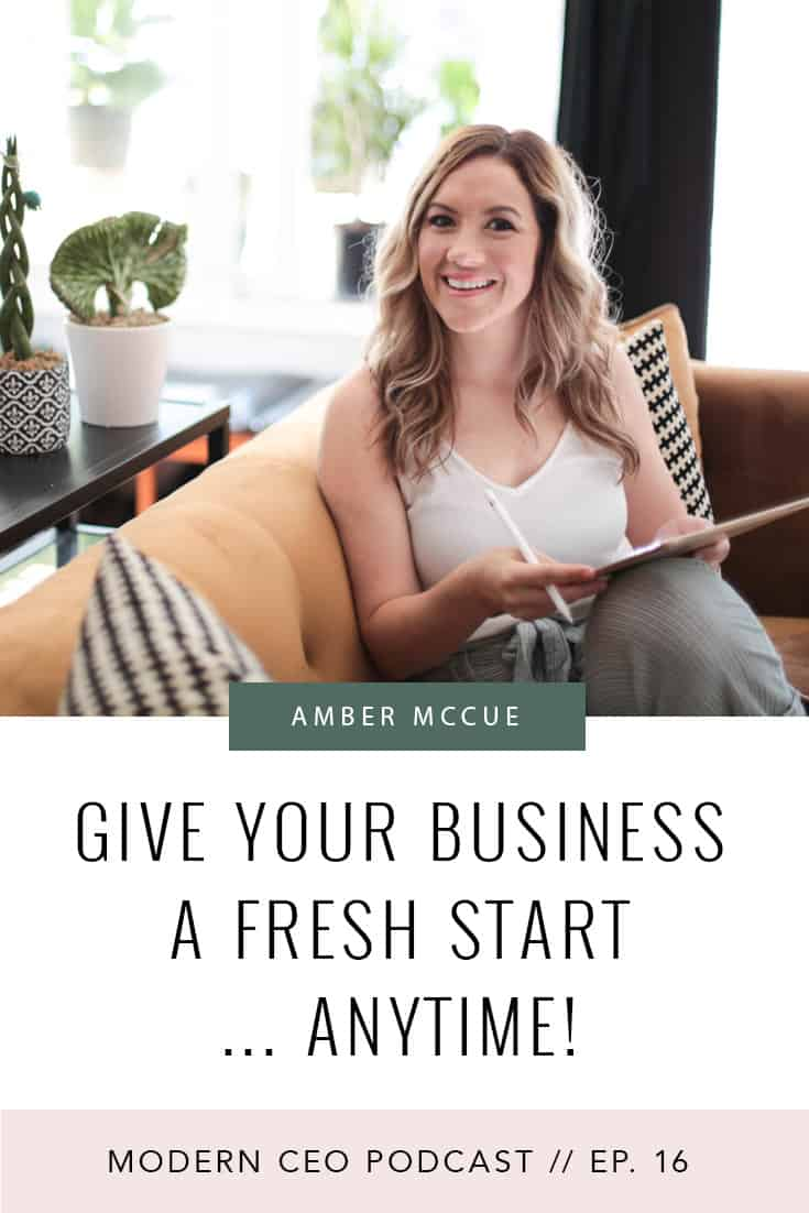 Give Your Business a Fresh Start… Anytime!