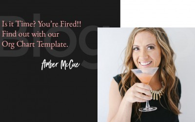 Is it Time? You're Fired!! Find out with Our Org Chart Template.