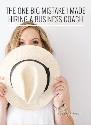 The One Big Mistake I Made Hiring a Business Coach