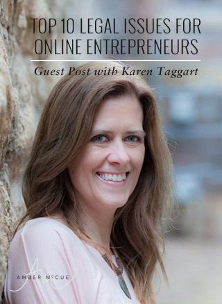 Top 10 legal issues for online entrepreneurs